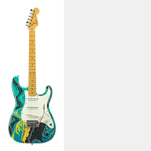 Fender Bowlingball Strat (G-122)